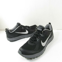 Nike Wild Trail Mens Size 11 Black Athletic Trail Running Shoes 642833-001  - $39.59