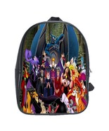 Scb1142 backpack school bag evil villains disney cartoon animati thumbtall
