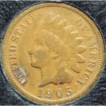 1905 Indian Head Penny Partial Liberty VG #0542 - $2.39