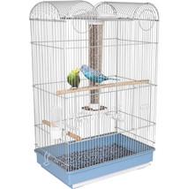 Ware Blue/white Bird Central Parakeet/finch Cage 791611173220 - £68.13 GBP
