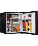 Compact Mini Fridge Refrigerator Dorm Bar Shelf 1.7 cu ft - £69.06 GBP