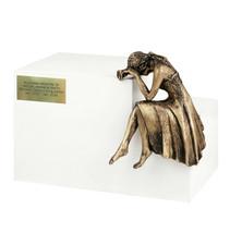 Nostalgia Cremation Ashes Urn Modern Funeral Adult Urn Unique Memorial, Casket - $250.00+