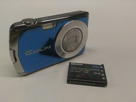 Casio EXILIM EX-S5 10MP Digital Camera and Rechargeable Battery - Tested... - $29.99