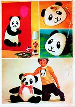Simplicity 5396 Panda Wall Hanging, Stuffed Toy, Pillow and Place Mat Vintage Se - $9.85