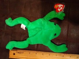 Ty Beanie Baby Legs Frog 1993 Excellent Condition - $2.99