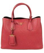 Prada Women's Saffiano Cuir Pink Handbag 1BG775 - $3,350.00