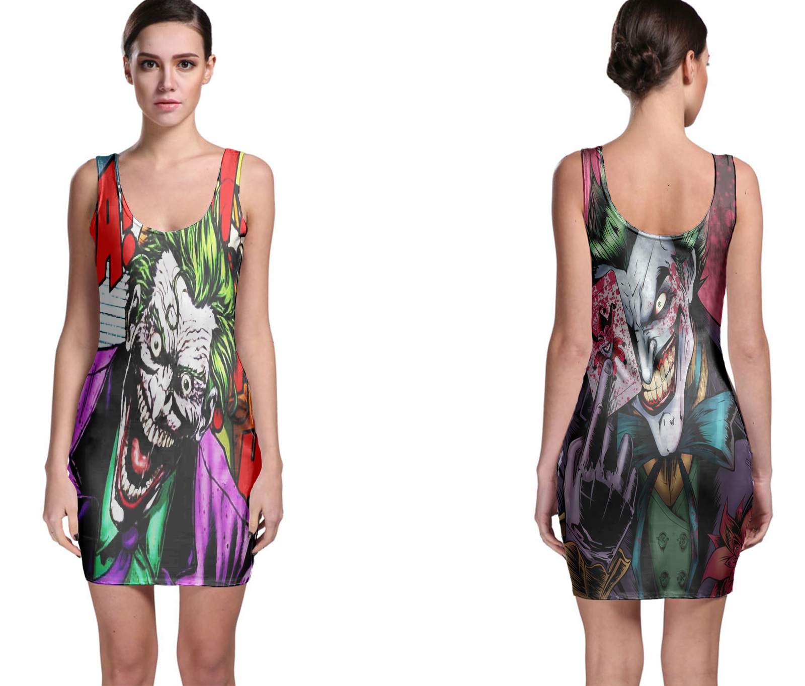 Joker bodycon dress