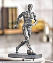 Soccer Player Design Figurine -Trophy Table Home Decor - $44.54