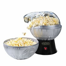Star Wars Death Star Hot Air Popcorn Maker And One 2 Lb Bag Of Empire Da... - $67.88
