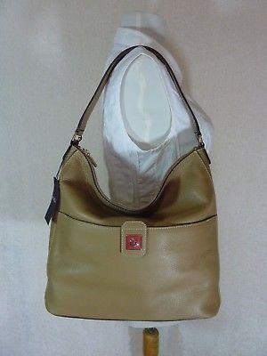NWT Furla Cappuccino Pebbled Leather Jo Vertical Tote Bag