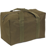 Olive Drab Enhanced Nylon Air Force Large Carry Cargo Crew Bag - $23.99