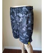 Tek Gear CoolTek Black Iron Camo Warrior Basketball Shorts Athletic Runn... - $10.25
