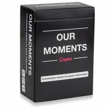 OUR MOMENTS Couples: 100 Thought Provoking Conversation Starters for Gre... - $37.20