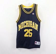 Vtg 90s Champion Mens 36 Fab Five Michigan Wolverines J Howard Basketbal... - $69.25