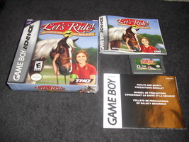 Let's Ride! Sunshine Stables  (Nintendo Game Boy Advance, 2005) - $6.88