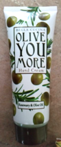 Bella Cucina Olive You More Hand Cream Rosemary & Olive Oil 2.7 oz 80 ml - $14.99