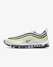 Nike Air Max 97 SE Trainers White/Barely Volt/Black/volt Shoes AQ4126-101 - $217.56