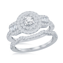 Women's .925 Silver Wedding set - $59.99