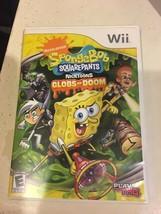 SpongeBob SquarePants Featuring Nicktoons: Globs of Doom (Nintendo Wii, ... - $9.89