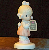 1988 Precious Figurines Moments AA-191843 Vintage Collectible image 2