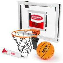 Majik Deluxe Over The Door Breakaway Basketball Rim W/Electronic Scoring - $29.67