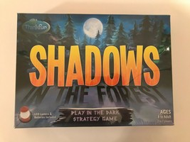 Shadows Play In The Park Strategy Game With Led Lantern New Sealed Free Ship - $21.74