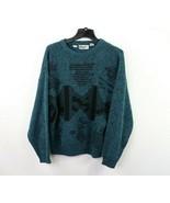 Vintage 90s Streetwear Mens Large Ed Bassmaster Coogi Style Geometric Sw... - $49.45