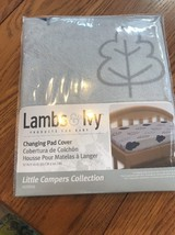Lambs & Ivy Little Campers Changing Pad Cover - $16.47