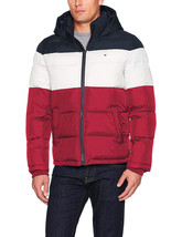 Tommy Hilfiger Men's Ultra Loft Insulated Classic Hooded Puffer Jacket Coat image 2