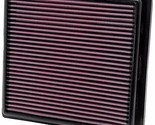 K&N Drop In Replacement Panel Air Filter 2012-2015 Jeep Grand Cherokee 6.4L V6