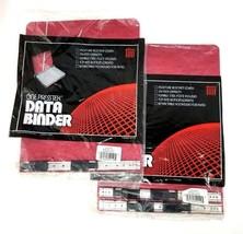 "Acco Prestex Data Binder Executive Red Unburst 9 1/2"" x 11"" Data Binders (2) New image 1"