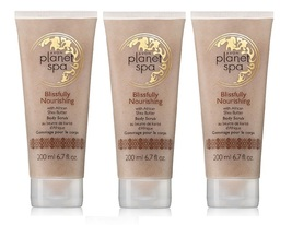 Avon Planet Spa Blissfully Nourishing African Shea Butter Body Scrub 3 Pack - $23.99