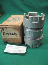 """New 3"""" Appleton Compression Coupling 3 in. 3in NOS new old stock - $44.95"""