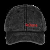San Francisco Hat / 49ers Hat // Vintage Cotton Twill Cap image 1