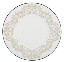 "Lenox Sheer Nature's Vows Accent Luncheon Plate 9.25"" Platinum Trim New - $32.90"