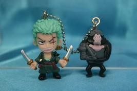 Bandai One Piece W P3 Mini Figure Keychain Roronoa Zoro Humandrill - $24.99