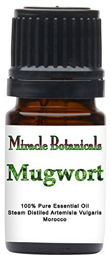 Miracle Botanicals Mugwort Essential Oil - 100% Pure Artemisia Vulgaris - Therap