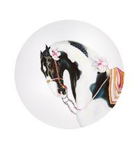 Vista Alegre Portugal Porcelain CABALLUS PLATE PAINTED STALLION 21132666... - $2,022.85