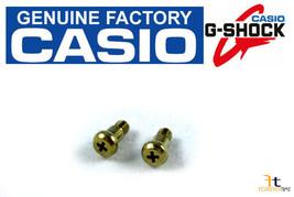 Casio G-Shock GW-204K-9 Watch Bezel Screw Gold Tone (1H&5H) (Qty 2) - $9.85