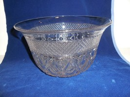 Vintage Imperial Glass Cape Cod Punch Bowl - $29.65