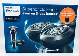 NEW Philips Norelco Shaver 9850 Lithium Ion Power With Travel Case 1169469 - $190.07