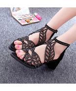 2018 Vintage Summer Women Shoes Sandals Platform Wedge High Heels Bohemi... - $21.71+