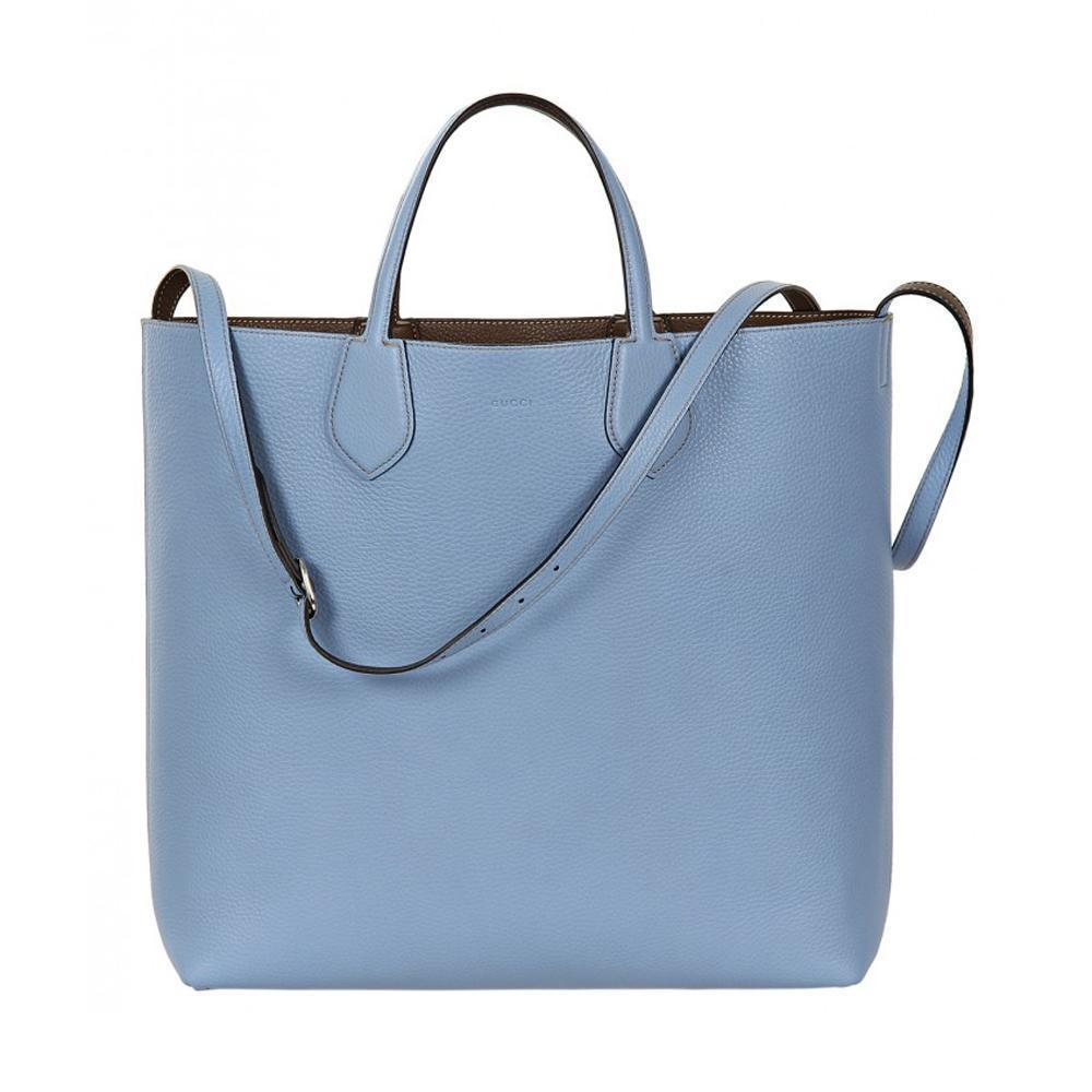 Gucci classic women s baby blue reversible ramble tote bag shoulder bag 370823 stella saksa