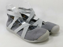 Keen Sienna MJ Ankle Strap Size US 7 M (B) EU 37.5 Women's Flats Shoes Gray - $53.95