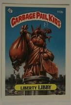 Liberty Libby Vintage Garbage Pail Kids #113B Trading Card 1986 - $2.96