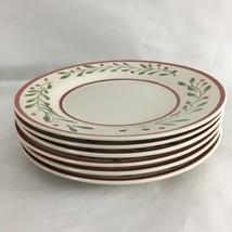 """Royal Norfolk Grape Leaf Set of 6 10 1/2"""" Dinner Plates - $48.51"""