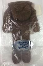Wimpole Street Creations Knit Glove Baby Rag Yarn Doll Craft Kit Brown Body - $13.36