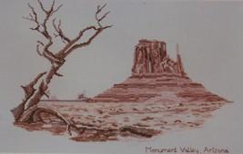 Monument Valley Arizona ArtVentures Cross Stitch Needlepoint Charted Gra... - $14.80