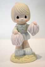 Precious Moments  Cheers To The Leader  104035  Cheerleader Figure - $16.82
