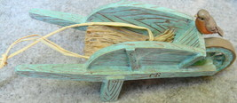 Hallmark Nature's Sketchbook Marjolein Bastin Decorative Wheelbarrow - $18.00